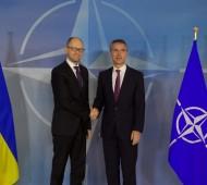 The Prime Minister of Ukraine visits NATO